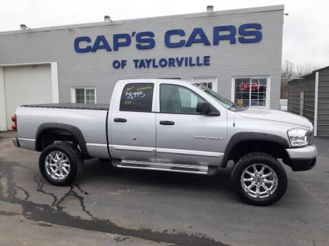 2007 Dodge Ram Pickup 1500 for sale at Caps Cars Of Taylorville in Taylorville IL