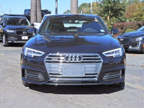 2017 Audi A4 for sale at Auto Finance of Raleigh in Raleigh NC