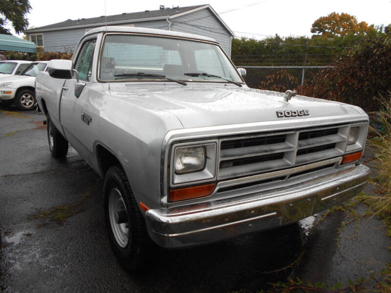 1990 Dodge RAM 250 for sale at Family Auto Network in Portland OR