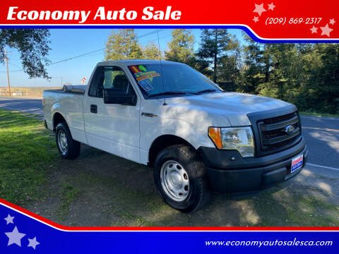 2014 Ford F-150 for sale at Economy Auto Sale in Modesto CA