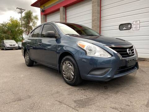 2015 Nissan Versa for sale at MIDWEST CAR SEARCH in Fridley MN