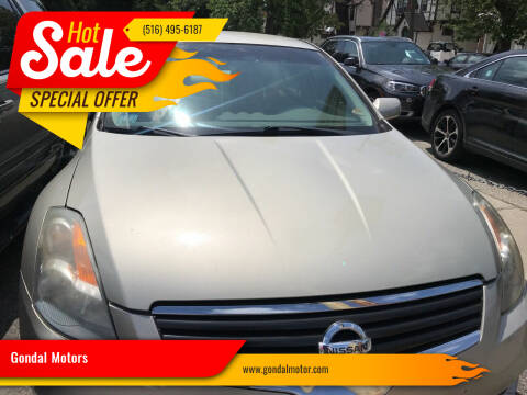 2009 Nissan Altima for sale at Gondal Motors in West Hempstead NY