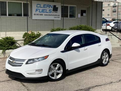 2014 Chevrolet Volt for sale at Clean Fuels Utah in Orem UT