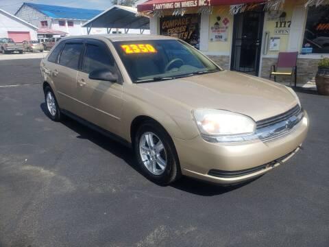 2005 Chevrolet Malibu Maxx for sale at ANYTHING ON WHEELS INC in Deland FL