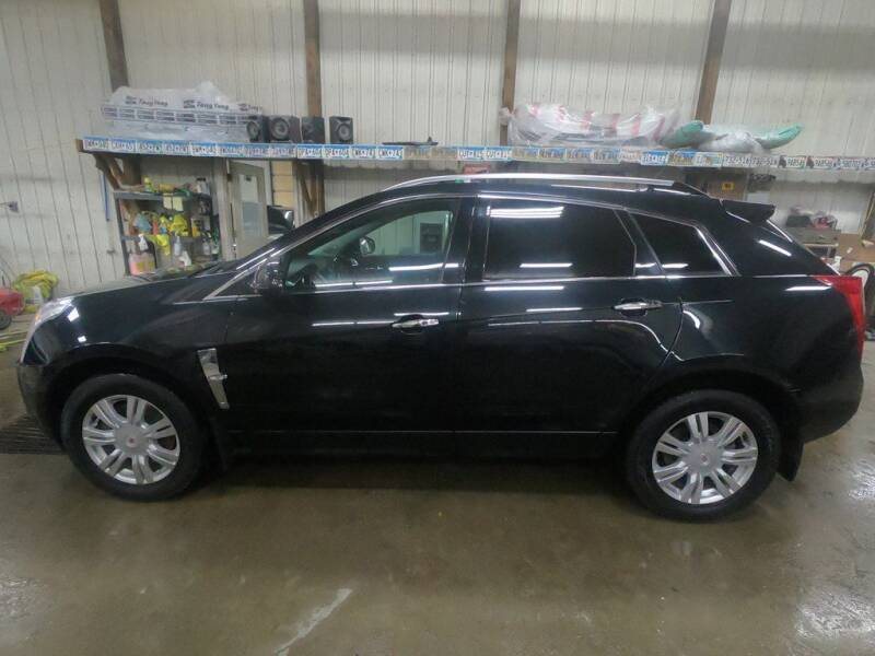 2012 Cadillac SRX for sale at Alpha Auto - Mitchell in Mitchel SD
