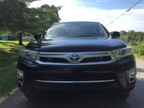 2012 Toyota Highlander Hybrid for sale at Speed Auto Mall in Greensboro NC