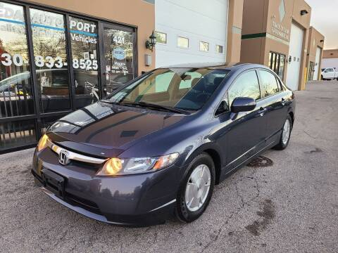 2008 Honda Civic for sale at REDA AUTO PORT INC in Villa Park IL