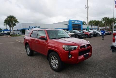 2018 Toyota 4Runner for sale at WinWithCraig.com in Jacksonville FL