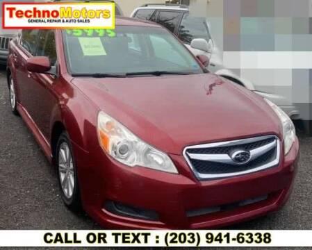 2010 Subaru Legacy for sale at Techno Motors in Danbury CT