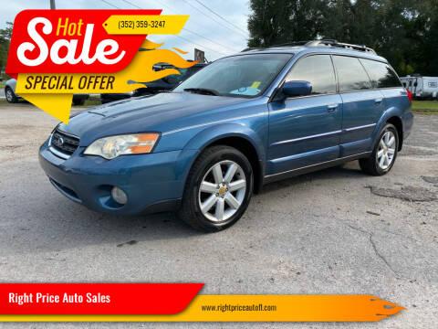 2006 Subaru Outback for sale at Right Price Auto Sales in Waldo FL