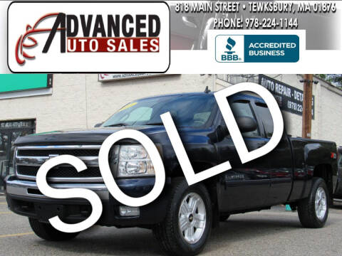 2011 Chevrolet Silverado 1500 for sale at Advanced Auto Sales in Tewksbury MA