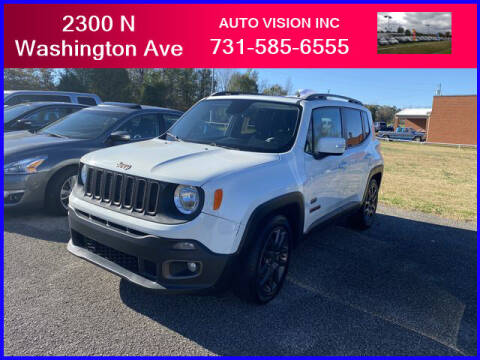 2016 Jeep Renegade for sale at Auto Vision Inc. in Brownsville TN