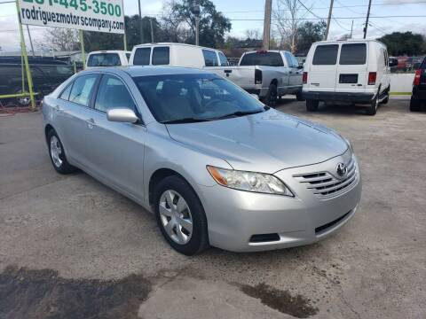 2009 Toyota Camry for sale at RODRIGUEZ MOTORS CO. in Houston TX
