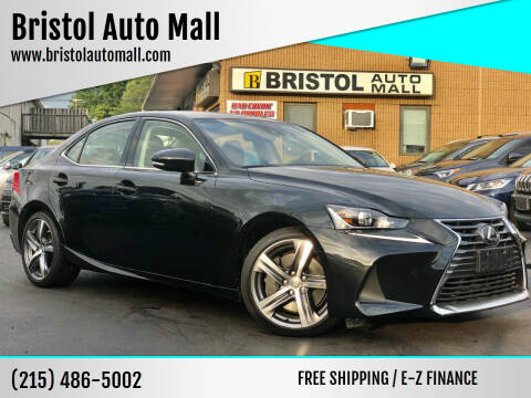 2017 Lexus IS 300 for sale at Bristol Auto Mall in Levittown PA