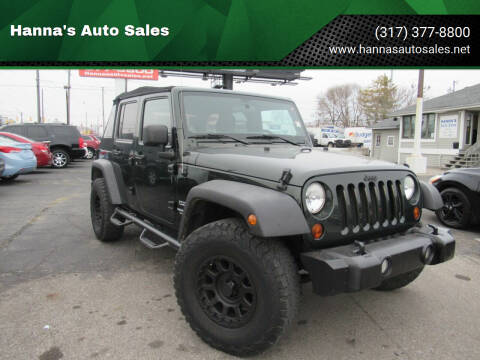 2011 Jeep Wrangler Unlimited for sale at Hanna's Auto Sales in Indianapolis IN