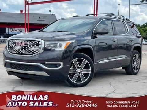 2018 GMC Acadia for sale at Bonillas Auto Sales in Austin TX