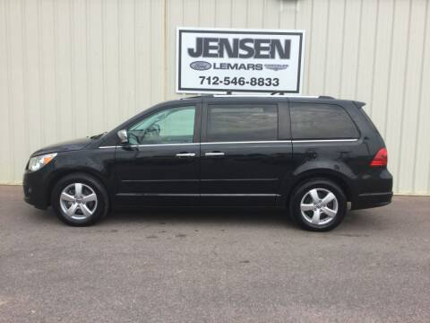 2013 Volkswagen Routan for sale at Jensen's Dealerships in Sioux City IA