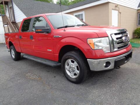 2012 Ford F-150 for sale at Liberty Motors in Chesapeake VA
