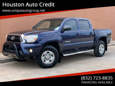 2013 Toyota Tacoma for sale at Houston Auto Credit in Houston TX