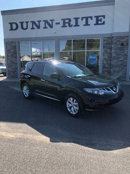 2011 Nissan Murano for sale at Dunn-Rite Auto Group in Kilmarnock VA