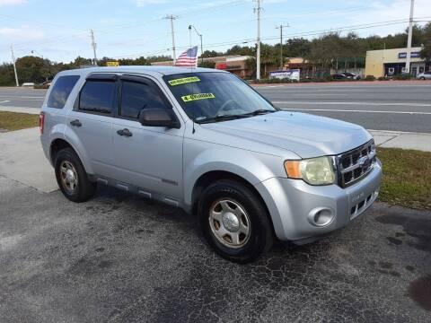 2008 Ford Escape for sale at Easy Credit Auto Sales in Cocoa FL