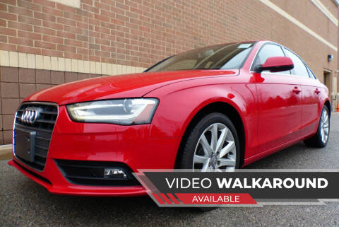 2013 Audi A4 for sale at Macomb Automotive Group in New Haven MI