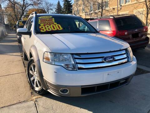 2008 Ford Taurus X for sale at Jeff Auto Sales INC in Chicago IL