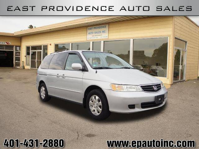 2004 Honda Odyssey for sale at East Providence Auto Sales in East Providence RI