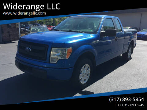 2013 Ford F-150 for sale at Widerange LLC in Greenwood IN