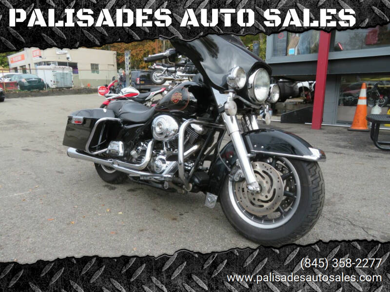2002 Harley-Davidson FLHT ELECTRA GLIDE for sale at PALISADES AUTO SALES in Nyack NY