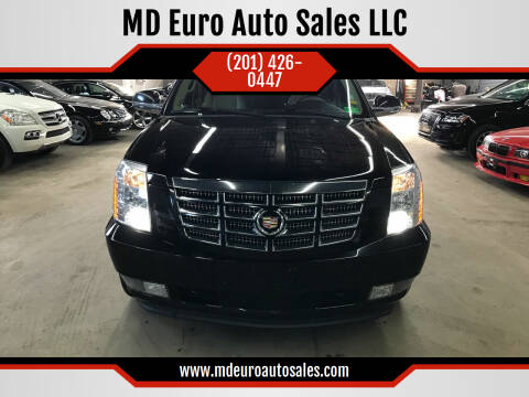 2012 Cadillac Escalade for sale at MD Euro Auto Sales LLC in Hasbrouck Heights NJ