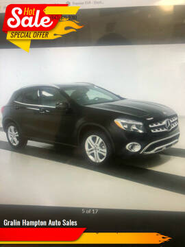 2018 Mercedes-Benz GLA for sale at Gralin Hampton Auto Sales in Summerville SC