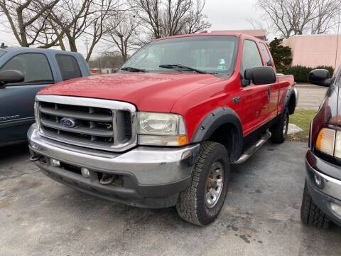 2003 Ford F-250 Super Duty for sale at Lakeshore Auto Wholesalers in Amherst OH