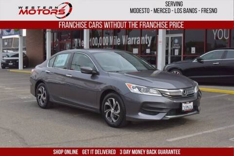 2016 Honda Accord for sale at Choice Motors in Merced CA