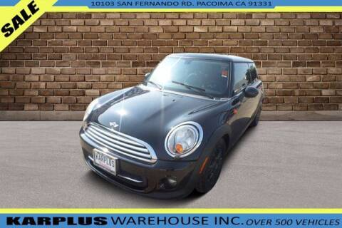 2013 MINI Hardtop for sale at Karplus Warehouse in Pacoima CA