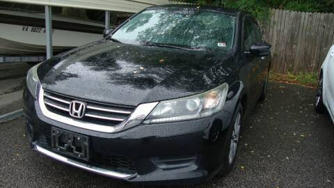 2013 Honda Accord for sale at Easy Ride Auto Sales Inc in Chester VA