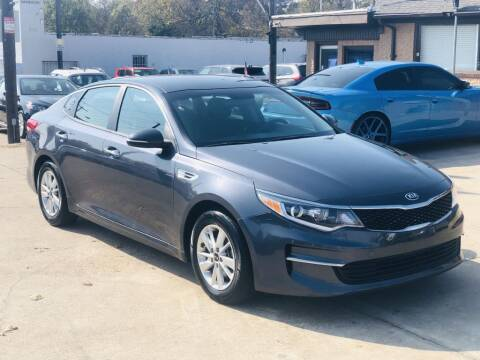 2018 Kia Optima for sale at Safeen Motors in Garland TX