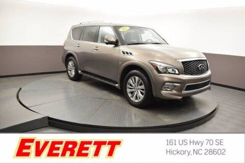 2017 Infiniti QX80 for sale at Everett Chevrolet Buick GMC in Hickory NC