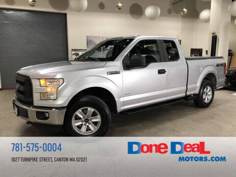2016 Ford F-150 for sale at DONE DEAL MOTORS in Canton MA