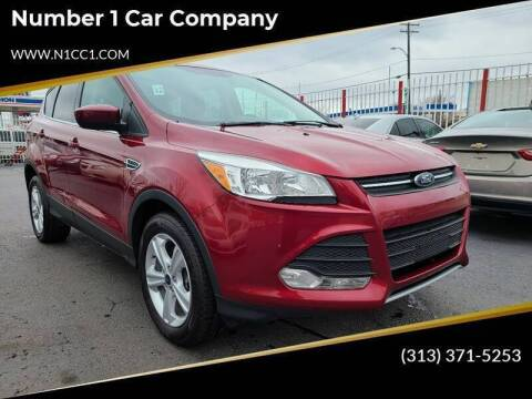 2015 Ford Escape for sale at Number 1 Car Company in Detroit MI