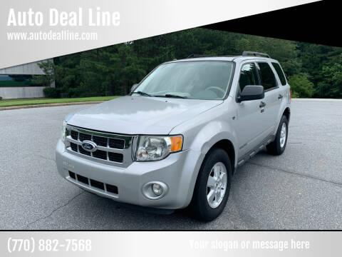 2008 Ford Escape for sale at Auto Deal Line in Alpharetta GA