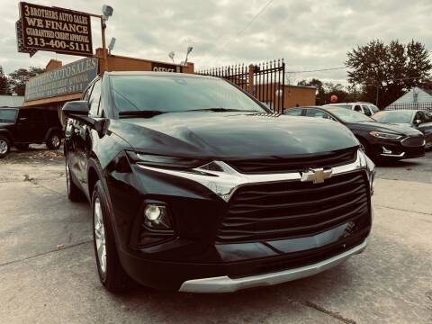 2021 Chevrolet Blazer for sale at 3 Brothers Auto Sales Inc in Detroit MI