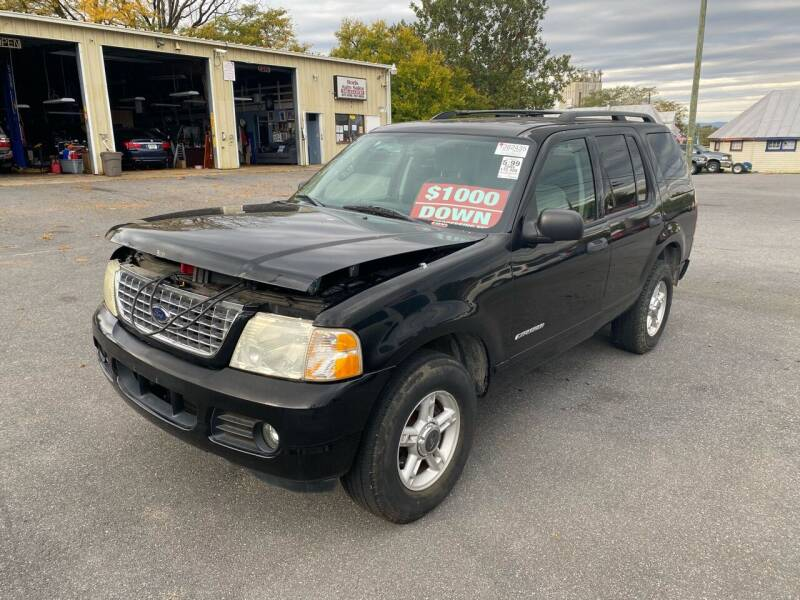 2004 Ford Explorer for sale at Boris Auto Sales & Repairs in Harrisonburg VA