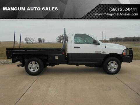2014 RAM Ram Pickup 2500 for sale at MANGUM AUTO SALES in Duncan OK