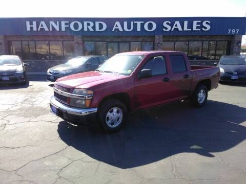 2006 Chevrolet Colorado for sale at Hanford Auto Sales in Hanford CA