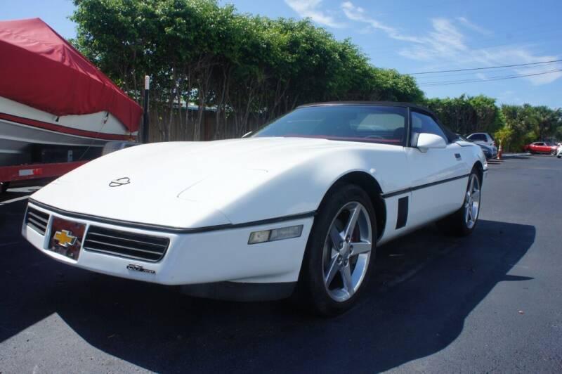 1989 Chevrolet Corvette for sale at Dream Machines USA in Lantana FL