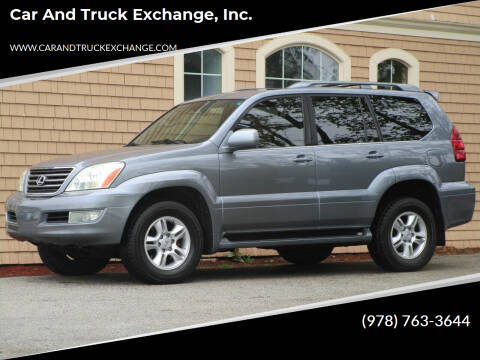 2006 Lexus GX 470 for sale at Car and Truck Exchange, Inc. in Rowley MA