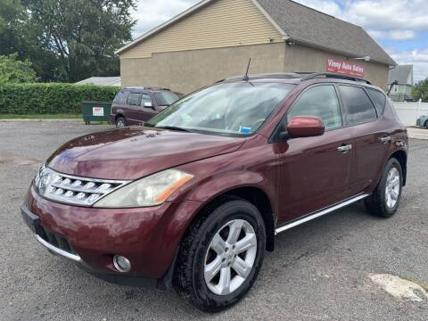 2007 Nissan Murano for sale at VINNY AUTO SALE in Duryea PA
