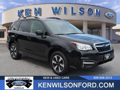 2018 Subaru Forester for sale at Ken Wilson Ford in Canton NC