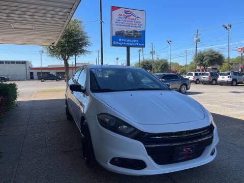 2016 Dodge Dart for sale at Magic Auto Sales in Dallas TX